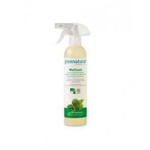 Green Natural - GN Detergente Multiuso Menta & Eucalipto  Ecobio - 500 ml