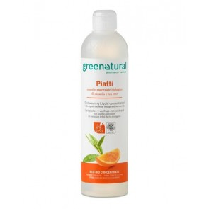 Green Natural - Gn Detergente A Mano Naranja & Tea Tree - Ecobio