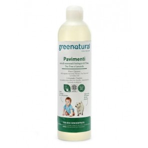 Greenatural - Detergente Suelos Higienizante Lavanda, Tomillo y Arbol del Té Ecobio - 500 ml
