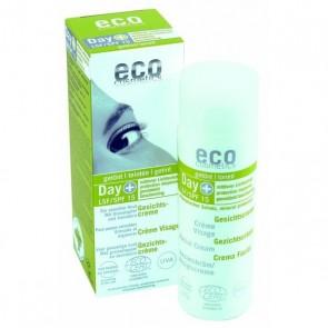 Eco Cosmetics Crema Facial Hidratante con Color FPS 15
