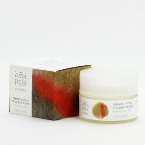 Amapola Biocosmetics Crema Nutritiva de Jojoba y Sésamo