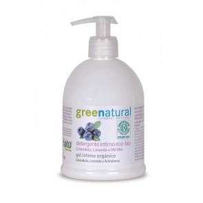 Greenatural - Gel Detergente Íntimo de Caléndula, Lavanda y Arándanos
