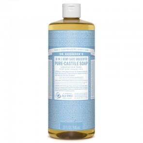 Dr Bronner's Jabón de Castilla Líquido Neutro Sin Perfume Bio