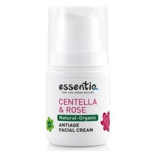 Essentiq Crema Facial Antiedad con Centella Asiática y Rosa