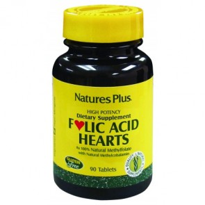 Nature's Plus Folic Acid Hearts