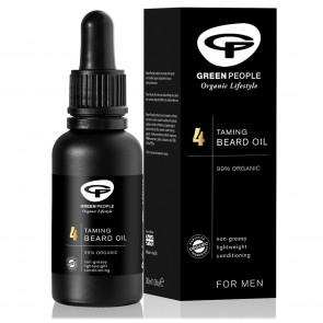 Green People Aceite para la Barba 4 para Hombre