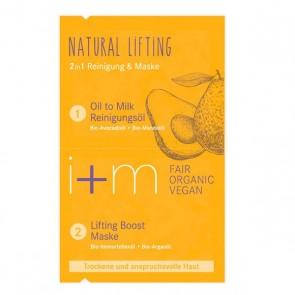i + m Aceite Limpiador y Mascarilla 2 en 1 Natural Lifting
