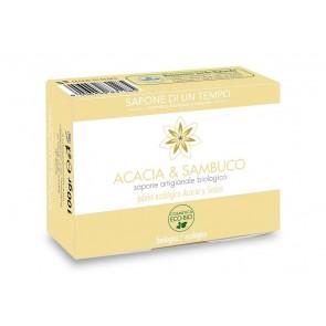 Sapone di un Tempo Jabon Acacia y Sauco