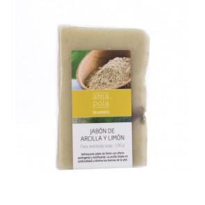 Amapola Biocosmetics Jabón de Arcilla y Limón