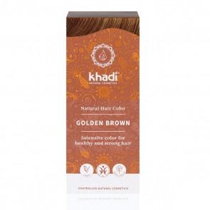Khadi Colorante Capilar en Polvo 100% Vegetal Castaño Dorado