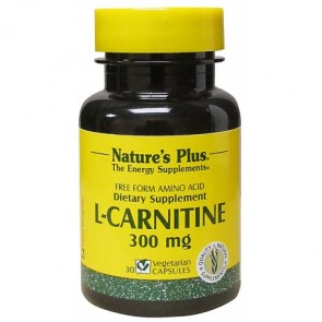 Nature's Plus L-Carnitina 300 Mg