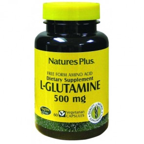 Nature's Plus L-Glutamina 500 Mg