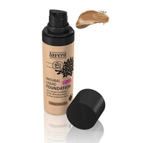 Lavera Maquillaje Fluido Natural Almond Amber 05