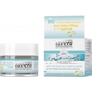 Lavera Crema de Día Hidratante Antiarrugas Q10 Basis Sensitiv