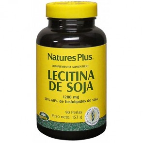 Nature's Plus Lecitina de Soja 1200 Mg