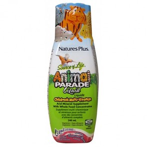 Nature's Plus Liquilicious Animal Parade Liquido