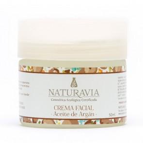 Crema Facial de Aceite de Argán - Naturavia