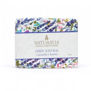 Jabón de Lavanda con Manteca de Karité - Naturavia