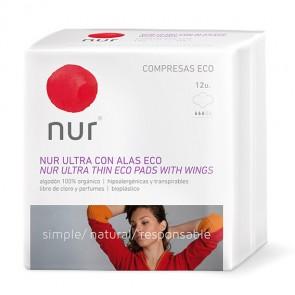 Nur Compresas Eco Ultrafinas Con Alas