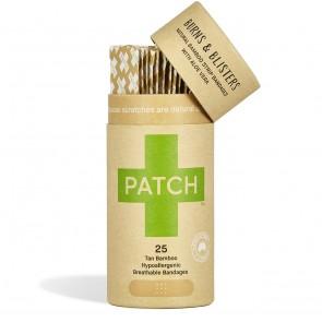 Patch Tiritas Biodegradables de Bambú con Aloe Vera