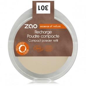 Zao Makeup - Recarga Polvo Compacto 303 Brun Beige