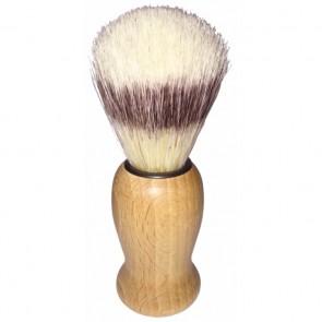 Redecker Brocha de Afeitar de Madera de Haya y Cerdas Naturales