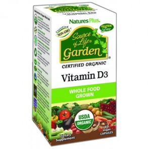 Nature's Plus Source Of Life Garden Vitamina D3
