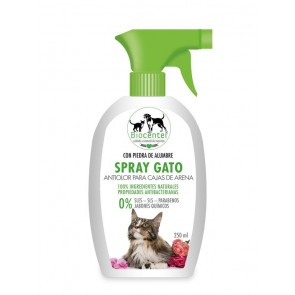 Biocenter Spray Gato Antiolor Caja de Arena