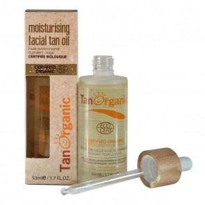 Tanorganic Aceite Autobronceador Hidratante Facial