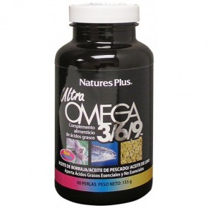 Nature's Plus Ultra Omega 3 6 9