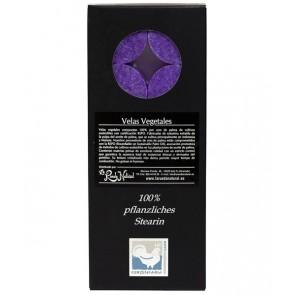 Kerzenfarm Vela de Té Violeta