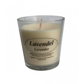 Kerzenfarm Vela Perfumada Con Aceite de Lavanda