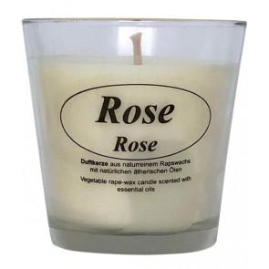 Kerzenfarm Vela Perfumada Con Aceite de Rosa