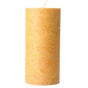 Kerzenfarm Vela Pilar Grande Amarillo