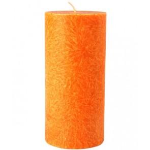 Kerzenfarm Vela Pilar Grande Naranja