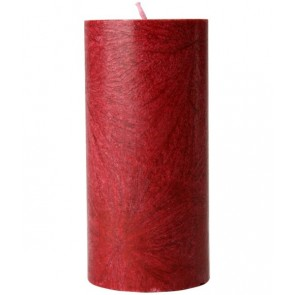 Kerzenfarm Vela Pilar Grande Rojo