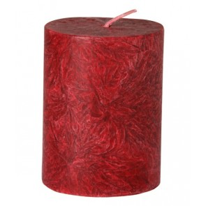 Kerzenfarm Vela Pilar Pequeña Rojo
