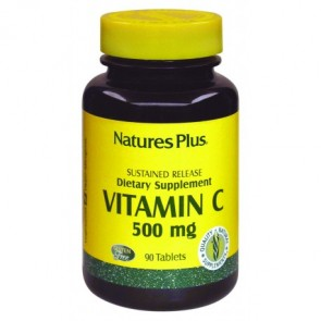 Nature's Plus Vitamina C 500 Mg