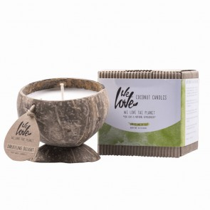 We Love The Planet Vela de Coco Natural Darjeeling Delight