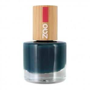 Zao Makeup Esmalte de Uñas 10 Free 666 Bleu Canard