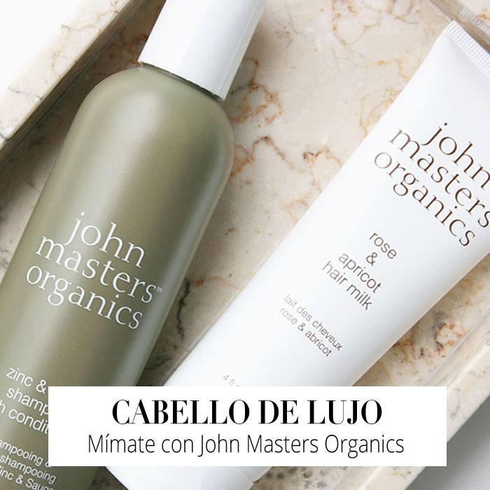 Mímate la Cabellera con los exquisitos productos de John Masters Organics