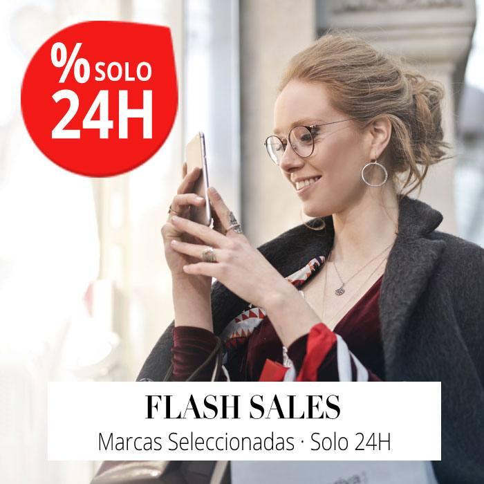 Flash Sales en marcas seleccionadas solo 24H