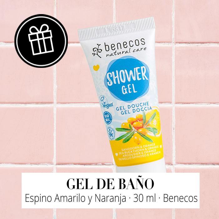 Regalo - Gel de Baño Espino Amarillo y Naranja de Benecos