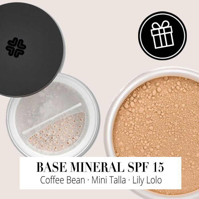 Regalo - Base Mineral SPF 15 Coffee Bean Mini Talla de Lily Lolo