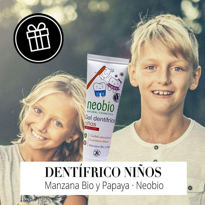 Regalo - Dentífrico Niños de Neobio