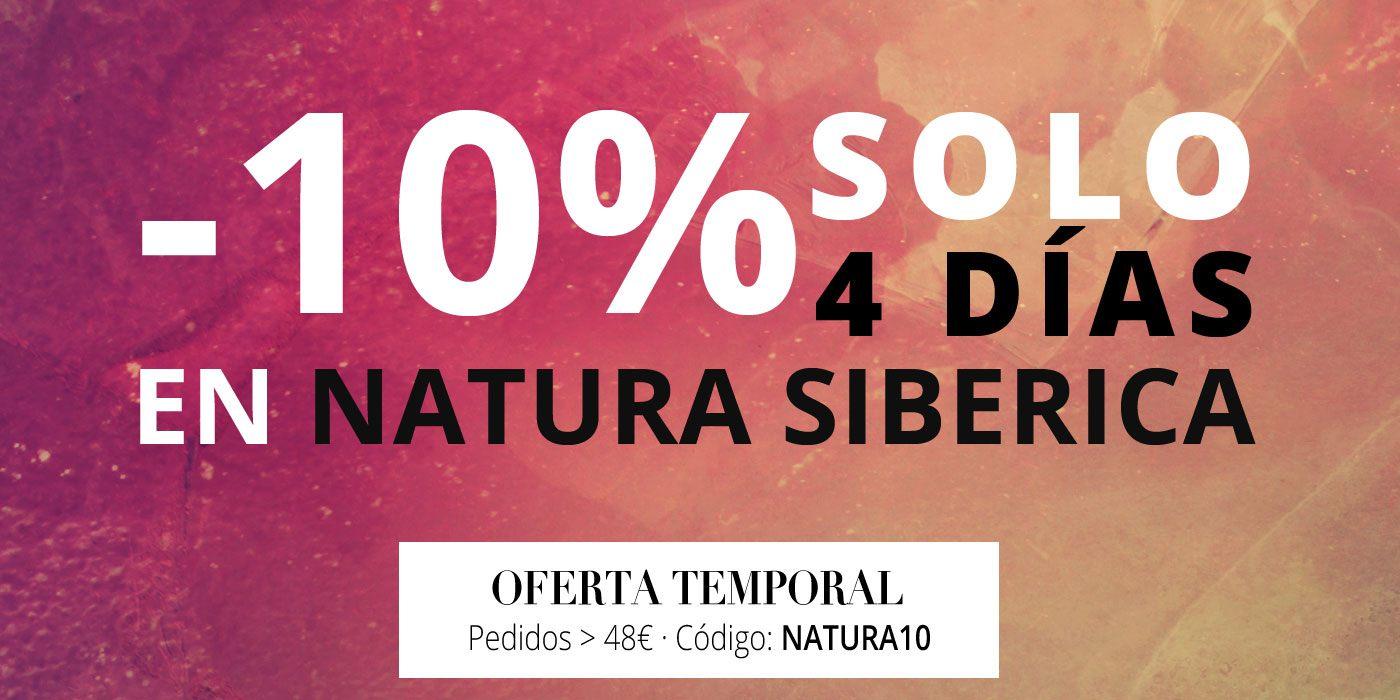 Oferta en Natura Siberica