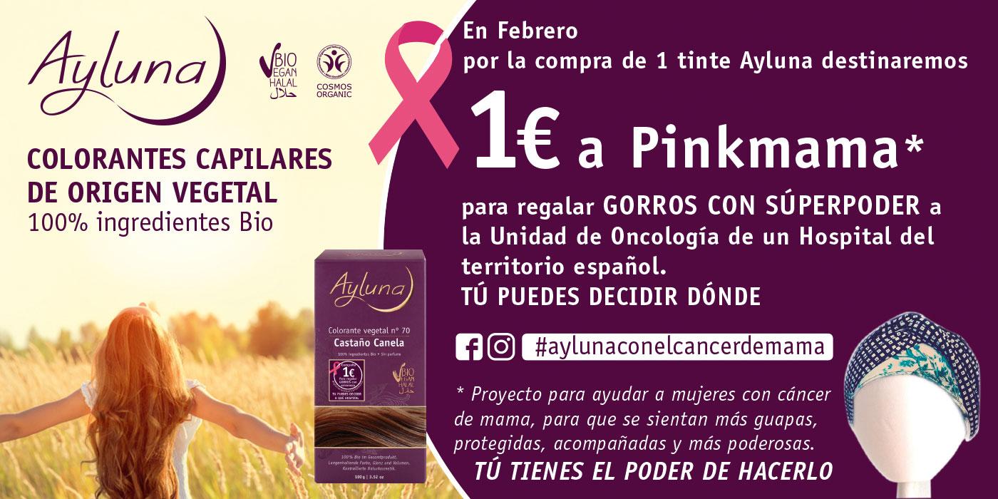 Campaña Ayluna 1€ Pinkmama